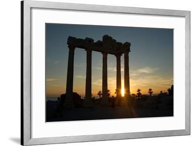 The Temple of Apollo, Side, Turkey--Framed Photographic Print