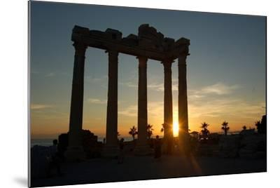 The Temple of Apollo, Side, Turkey--Mounted Photographic Print