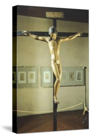 Holy Spirit Crucifix--Stretched Canvas Print