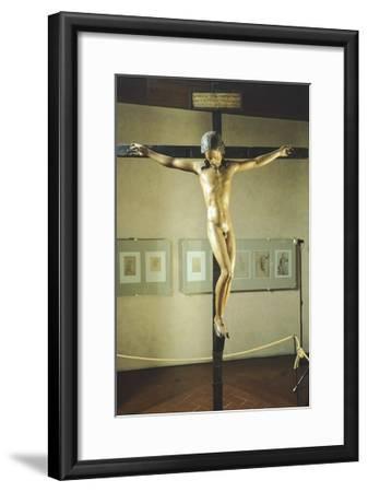 Holy Spirit Crucifix--Framed Giclee Print