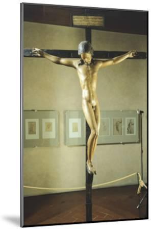 Holy Spirit Crucifix--Mounted Giclee Print