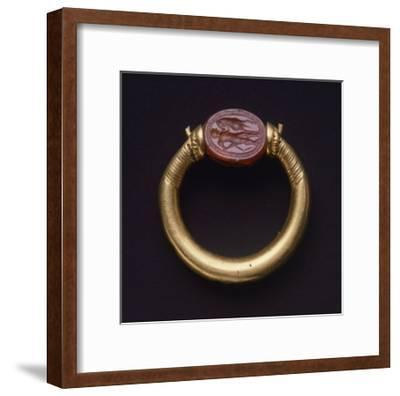 Gold Ring, from Cerveteri--Framed Giclee Print