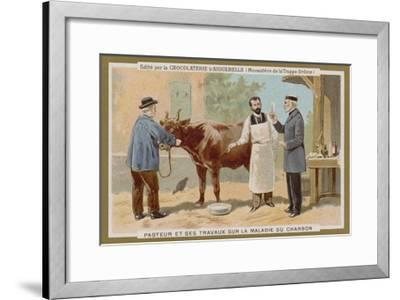 Chocolat D'Aiguebelle Trade Card--Framed Giclee Print