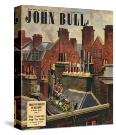 Front Cover of 'John Bull', May 1948--Stretched Canvas Print
