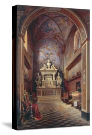 Jacopo Sannazzaro's Tomb-Gabriel Carelli-Stretched Canvas Print
