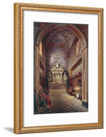 Jacopo Sannazzaro's Tomb-Gabriel Carelli-Framed Giclee Print