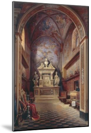 Jacopo Sannazzaro's Tomb-Gabriel Carelli-Mounted Giclee Print