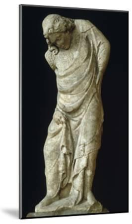 Caryatid as Virtue-Tino di Camaino-Mounted Giclee Print