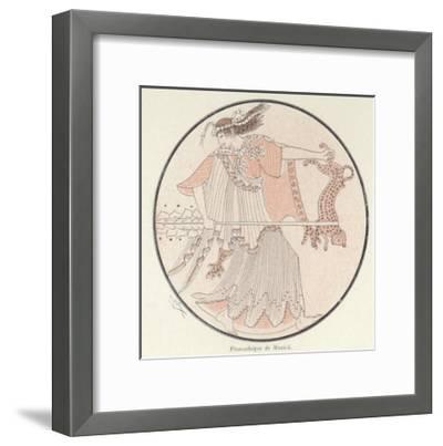 Detail of Greek Pottery--Framed Giclee Print