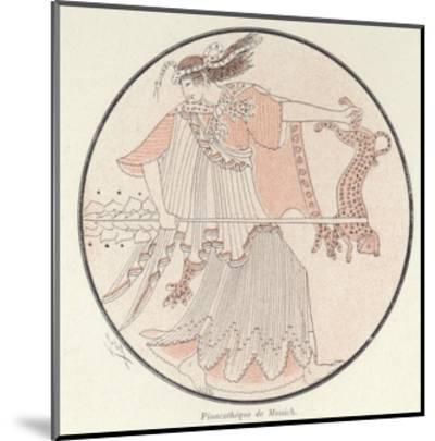 Detail of Greek Pottery--Mounted Giclee Print