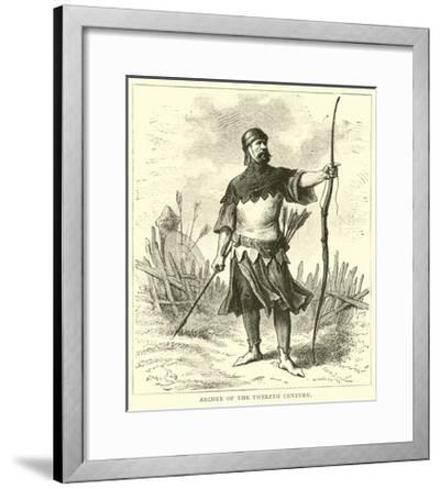 Archer of the Twelfth Century--Framed Giclee Print