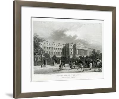 Cumberland Terrace, Regent's Park, London--Framed Giclee Print