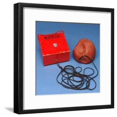 'Kickari' Football Game--Framed Giclee Print