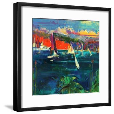 North Head, Sydney Harbour, 2012-Peter Graham-Framed Giclee Print