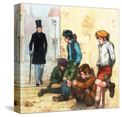 Urchins in the Cold-Alberto Salinas-Stretched Canvas Print