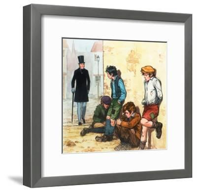 Urchins in the Cold-Alberto Salinas-Framed Giclee Print