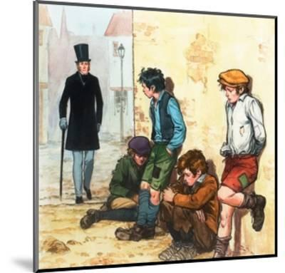 Urchins in the Cold-Alberto Salinas-Mounted Giclee Print
