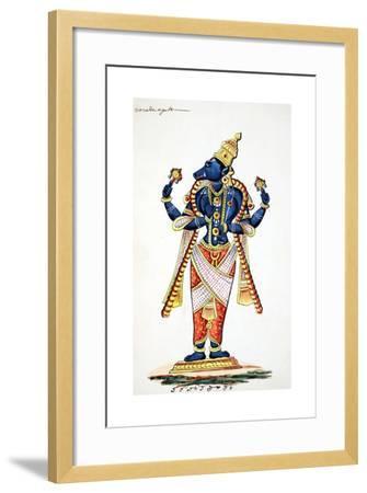 Varaha, Boar Avatar of Vishnu--Framed Giclee Print