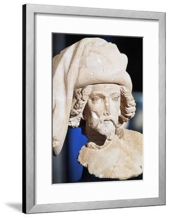Male Bust, Royal Palace--Framed Giclee Print