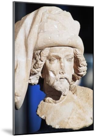 Male Bust, Royal Palace--Mounted Giclee Print