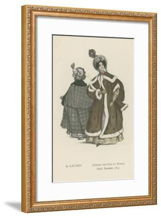 Journal Des Gens Du Monde, Paris, December 1833--Framed Giclee Print