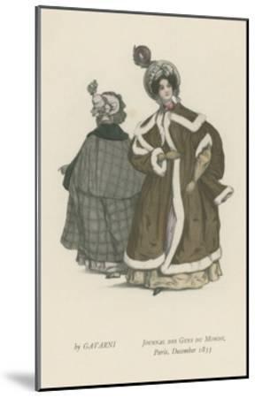Journal Des Gens Du Monde, Paris, December 1833--Mounted Giclee Print