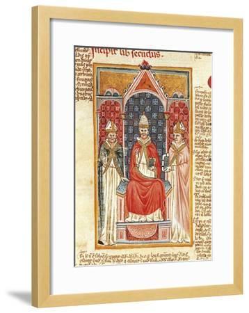 Pope Gregory IX--Framed Giclee Print
