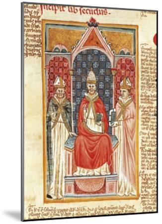 Pope Gregory IX--Mounted Giclee Print