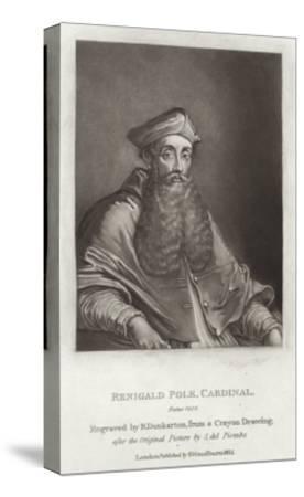 Renigald Pole-Sebastiano del Piombo-Stretched Canvas Print