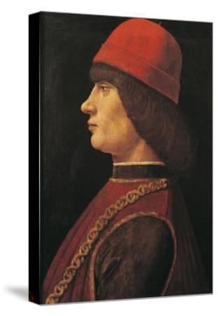 Portrait of Pico Della Mirandola--Stretched Canvas Print