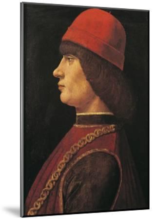 Portrait of Pico Della Mirandola--Mounted Giclee Print