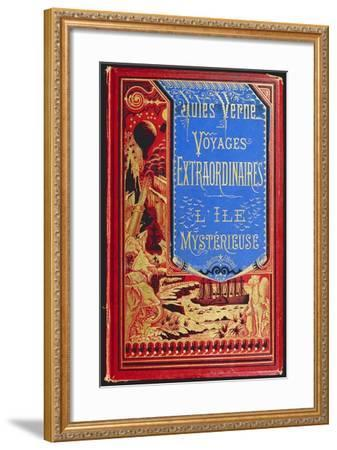 Cover of Mysterious Island, by Jules Verne--Framed Giclee Print