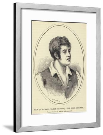 Hen--Framed Giclee Print