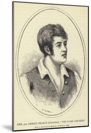 Hen--Mounted Giclee Print