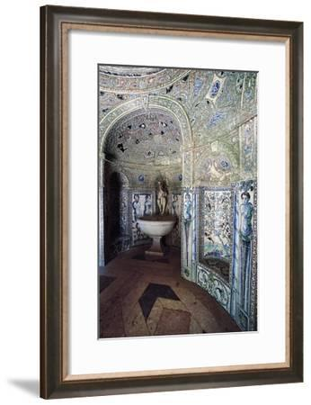 Palace of Marquises of Fronteira, Decorated Hall--Framed Giclee Print
