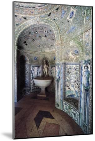 Palace of Marquises of Fronteira, Decorated Hall--Mounted Giclee Print