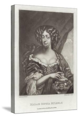 Madam Sophia Bulkely--Stretched Canvas Print