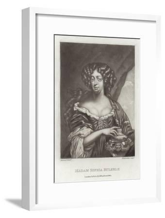 Madam Sophia Bulkely--Framed Giclee Print