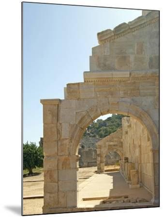 Outside the Bouleuterion, Patara, Turkey--Mounted Photographic Print