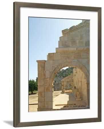 Outside the Bouleuterion, Patara, Turkey--Framed Photographic Print