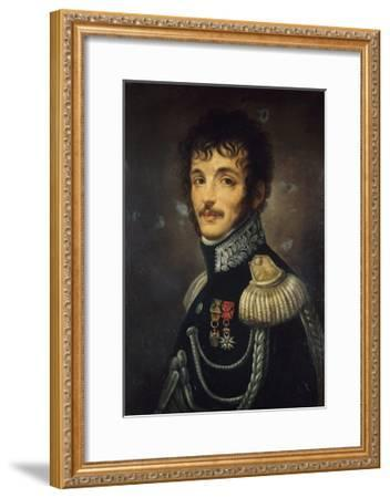 Portrait of Teodoro Lechi--Framed Giclee Print