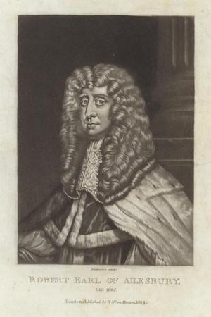 Robert Earl of Ailsbury-Sir Peter Lely-Stretched Canvas Print