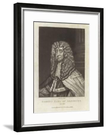 Robert Earl of Ailsbury-Sir Peter Lely-Framed Giclee Print