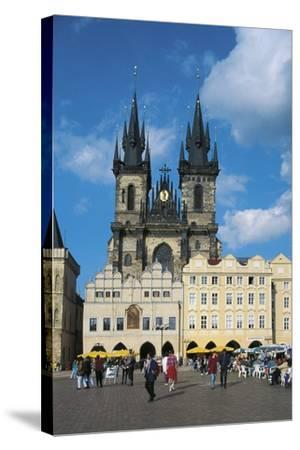 Czech Republic, Prague, Old Town--Stretched Canvas Print