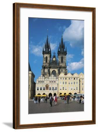 Czech Republic, Prague, Old Town--Framed Photographic Print