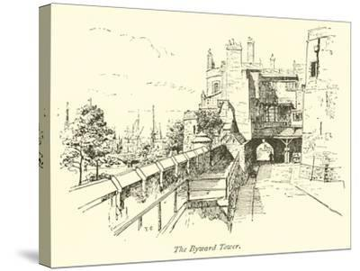 The Byward Tower--Stretched Canvas Print