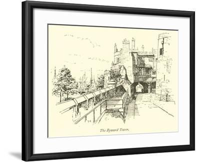 The Byward Tower--Framed Giclee Print