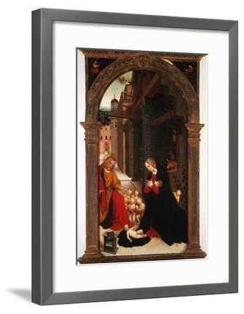 Adoration of the Child-Gerolamo Giovenone-Framed Giclee Print
