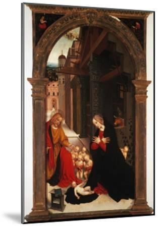 Adoration of the Child-Gerolamo Giovenone-Mounted Giclee Print