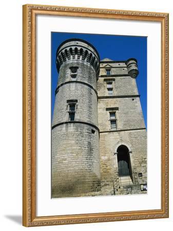 Gordes Castle--Framed Giclee Print
